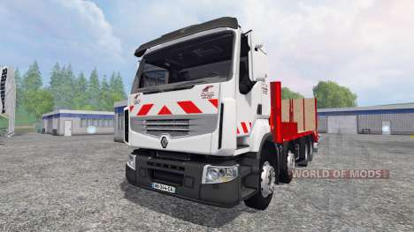 Renault Premium Lander [tow truck] para Farming Simulator 2015