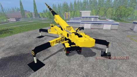 Liebherr LTM 11200 9.1 [Caterpillar] v2.0 para Farming Simulator 2015