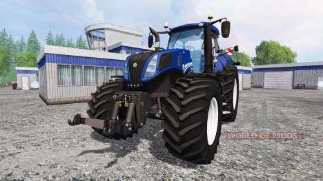 New Holland T8.420 [blue power] para Farming Simulator 2015