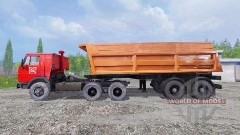 KamAZ-5410 [noroeste de la Alianza de los diseña para Farming Simulator 2015