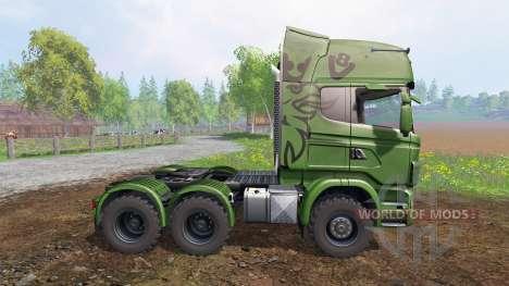 Scania R730 [euro farm] v1.5 para Farming Simulator 2015