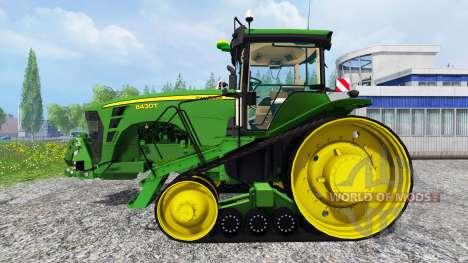 John Deere 8430T [European] v2.0 para Farming Simulator 2015