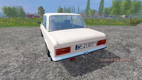 Fiat 125p para Farming Simulator 2015