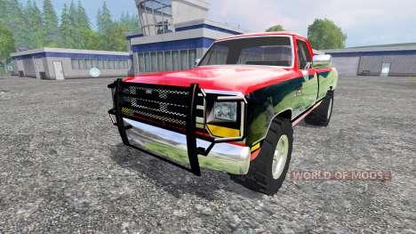 Dodge D-250 v1.1 para Farming Simulator 2015