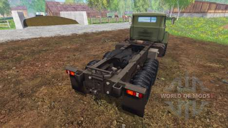 El KrAZ B18.1 v3.0 para Farming Simulator 2015