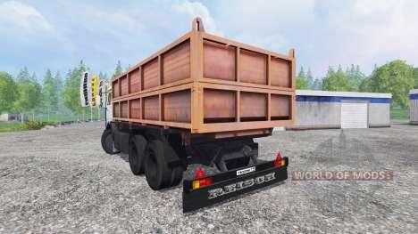 KamAZ-45143 v2.0 para Farming Simulator 2015