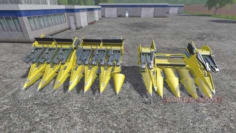 New Holland 980CF 6R and 980CF 12R para Farming Simulator 2015