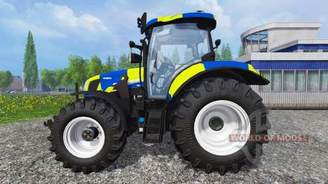 New Holland T6.160 Police para Farming Simulator 2015