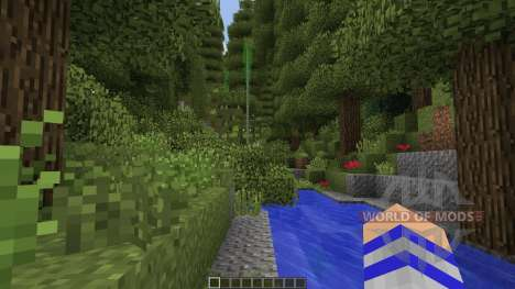 Life in the Woods: Renaissance para Minecraft