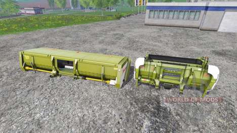 CLAAS EasyFlow300 and XDisc 6200 para Farming Simulator 2015