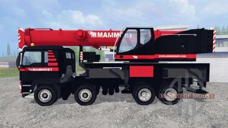 MAN TGX LFM1060 para Farming Simulator 2015