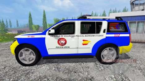 Nissan Pathfinder Police para Farming Simulator 2015