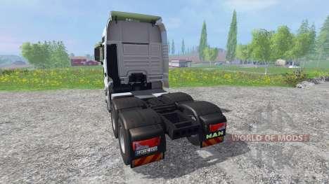 MAN TGX 18.680 para Farming Simulator 2015
