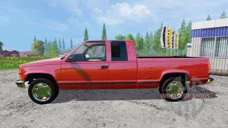 Chevrolet Silverado 1996 para Farming Simulator 2015