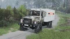 GAZ-3309 [camuflaje][08.11.15] para Spin Tires