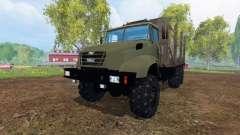 El KrAZ B18.1 [de madera]