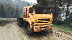 KamAZ-65226 [25.12.15] para Spin Tires