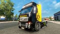 BvB piel para camiones Volvo para Euro Truck Simulator 2