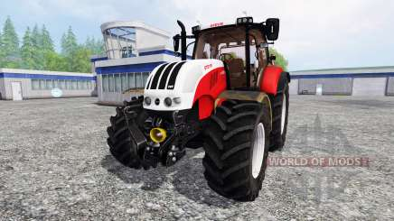 Steyr CVT 6230 v3.1 para Farming Simulator 2015