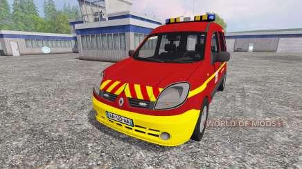 Renault Kangoo [fire service] para Farming Simulator 2015
