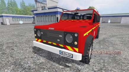 Land Rover Defender 110 para Farming Simulator 2015