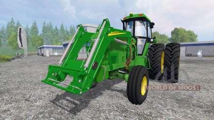 John Deere 4960 2WD FL para Farming Simulator 2015