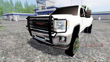 GMC Sierra 3500 2014 para Farming Simulator 2015