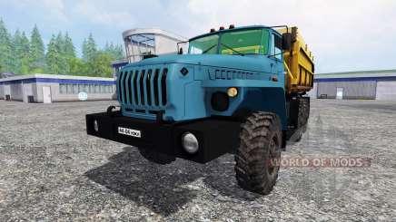 Ural-4320 Gazprom para Farming Simulator 2015