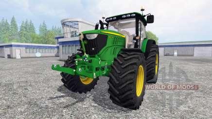 John Deere 6210R v1.0 para Farming Simulator 2015