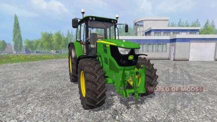 John Deere 6115M [pack] para Farming Simulator 2015