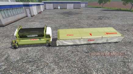 CLAAS EasyFlow300 and XDisc 6200 para Farming Simulator 2015