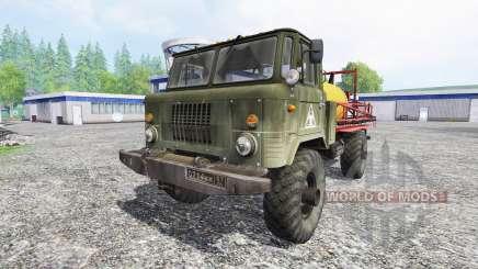 GAZ-66 [pulverizador] para Farming Simulator 2015