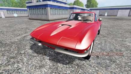 Chevrolet Corvette 1967 v1.1 para Farming Simulator 2015