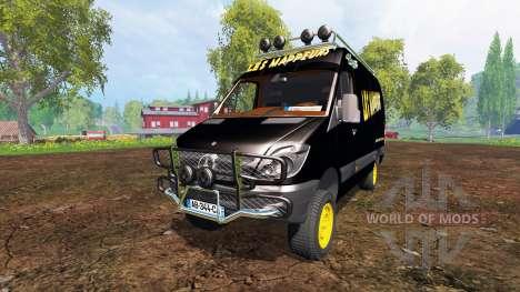 Mercedes-Benz Sprinter v2.0 para Farming Simulator 2015