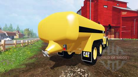 Caterpillar 725A [liquid manure] v2.0 para Farming Simulator 2015