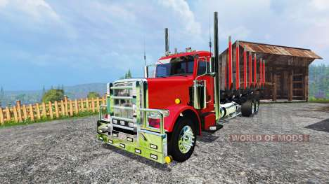 Peterbilt 388 [log truck] para Farming Simulator 2015
