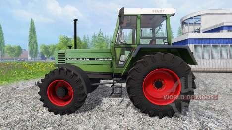Fendt Farmer 312 LSA v3.0.02 para Farming Simulator 2015