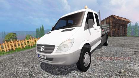 Mercedes-Benz Sprinter Kipper para Farming Simulator 2015