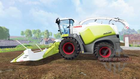 CLAAS Jaguar 870 v3.0 para Farming Simulator 2015
