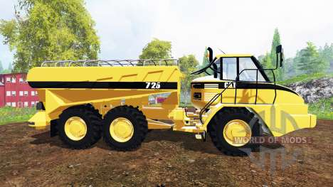 Caterpillar 725A [manure spreader] para Farming Simulator 2015