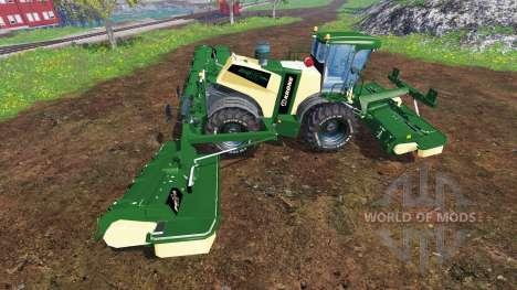 Krone Big M 500 [green and black] para Farming Simulator 2015