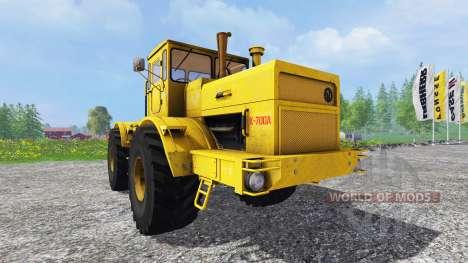 K-700A kirovec 4x4 para Farming Simulator 2015