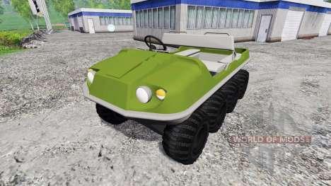 Argo 8x8 para Farming Simulator 2015
