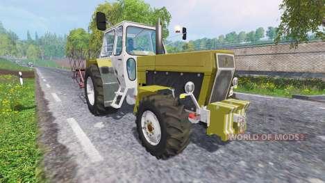 Actualizado el tráfico para Farming Simulator 2015