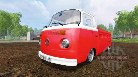 Volkswagen Transporter T2B 1972 [lowered] para Farming Simulator 2015