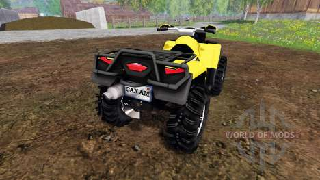 Can-Am Outlander 1000 XT Kompressor para Farming Simulator 2015