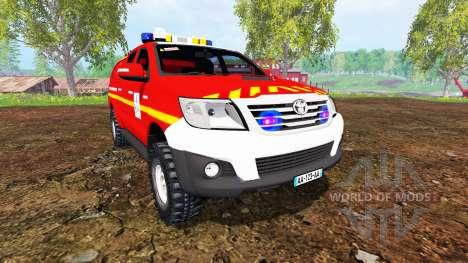 Toyota Hilux VLHR para Farming Simulator 2015