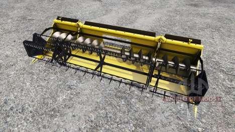 Geringhoff HS660 TL [folding cutterbar] v2.0 para Farming Simulator 2015