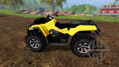 Can-Am Outlander 1000 XT v1.0 para Farming Simulator 2015