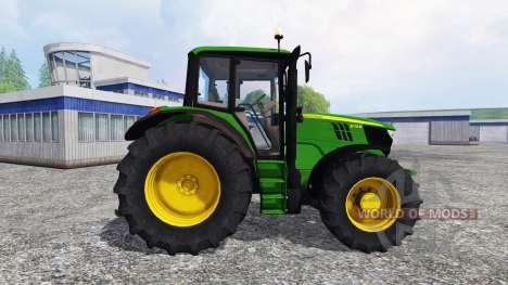 John Deere 6115M [washable] para Farming Simulator 2015